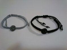 pulseras macramé con entrepiezas Bracelets, Diy, Jewelry, Fashion, Necklaces, Tutorials, Pattern, Schmuck, Moda