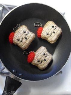 French Toast Amigurumi