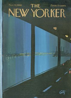 The New Yorker - Saturday, November 12, 1966 - Issue # 2178 - Vol. 42 - N° 38 - Cover by : Arthur Getz
