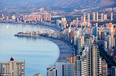 It is the Spanish resort that comes tinged with a certain reputation. But the Costa Blanca hotspot of Benidorm is due a reappraisal, says Julia Mora, as she spends a weekend on the sand. Great Places, Places To See, Beautiful Places, Places In Spain, Alicante Spain, Balearic Islands, Spain And Portugal, Best Cities, Holiday Travel