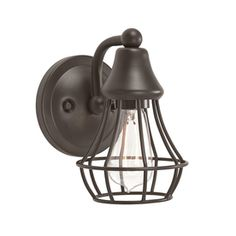 Kichler Lighting Bayley 5-in W Olde Bronze Arm Wall Sconce