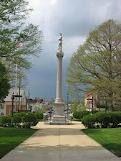 Statue in the town square of Mt. Vernon, Ohio.