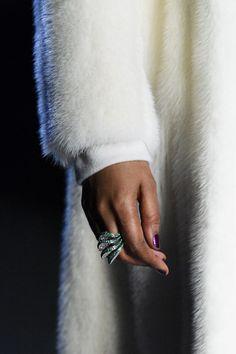 Pamella Roland at New York Fashion Week Fall 2018 - Details Runway Photos
