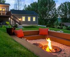 Stunning 35 Easy and Cheap Fire Pit and Backyard Landscaping Ideas https://crowdecor.com/35-easy-cheap-fire-pit-backyard-landscaping-ideas/