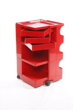 Creative Design of a trolley provides more space to store different things.