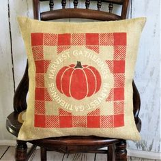 Pillows ~ Fall – Kelley's Collection Fall Pillows, Burlap Pillows, Throw Pillows, Halloween Pillows, Pillow Covers, Farm House, Collection, Toss Pillows, Pillow Case Dresses