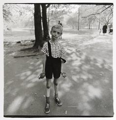 Child with Toy Hand Grenade in Central Park, Diane Arbus - Famous Black and White Photographers : The Masters