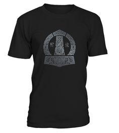 Viking - MJOLNIR  #birthday #october #shirt #gift #ideas #photo #image #gift #costume #crazy #nephew #niece