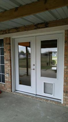Have a peek at this web-site discussing french doors exterior Barn Renovation, Door Design, Home Porch, Interior Barn Doors, Flipping Houses, French Doors Exterior, Glass Doors Interior, Pet Patio Door, Doors