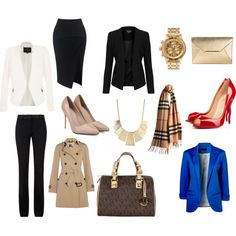 office must by tuguiafashion on Polyvore featuring Burberry, Topshop, River Island, Victoria Beckham, Maticevski, Christian Louboutin, MICHAEL Michael Kors, Michael Kors, Nixon and Charlotte Russe