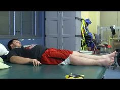 Kent Stephenson, the second person to undergo epidural stimulation of the spinal cord at the University of Louisville in Kentucky, is shown here as he volunt. Spinal Cord Injury, The Help, Muscle, Youtube, Muscles, Youtubers, Youtube Movies