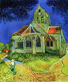 Van Gogh - The Church at Auvers