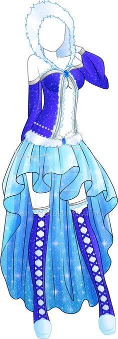 Dress Adoptable 06 - Closed by Tropic-Sea.deviantart.com on @DeviantArt