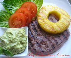 My Colombian Cocina - Carne Asada con Piña
