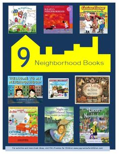 How about a book about neighborhoods? 9 Neighborhood Books fit the bill! #childrensbooks #literacy