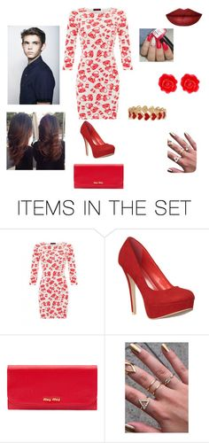 """""""Valentine's Day with Robbie"""" by lost-girl-in-neverland ❤ liked on Polyvore featuring art"""