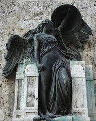 Black angel, Rome