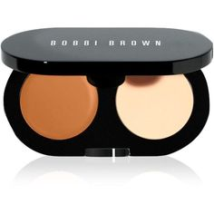 Bobbi Brown Creamy Concealer Kit in Golden (100 BRL) ❤ liked on Polyvore featuring beauty products, makeup, face makeup, concealer, bobbi brown cosmetics, dark circle concealer, creamy concealer and brightening concealer