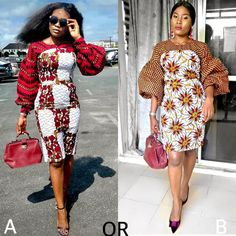 Try out this amazing beautiful Ankara dress we have for you ,This specially Ankara dress we selected for you will make you look Fabulous and stand out in any Occasion or Event ,you Lady of styles attend. African Inspired Fashion, Latest African Fashion Dresses, African Print Dresses, African Print Fashion, African Dress, Ankara Fashion, African Lace, Africa Fashion, African Prints