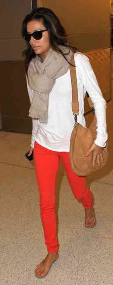Yes I just bought the orange jeans because I hate looking like everyone else
