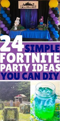 learn-how-to-plan-a-fortnite-birthday-boys-girls-kids-teens-adults-will-love-these-diy-fortnite-party-theme-ideas-for-invitations-decorations-fo/ SULTANGAZI SEARCH 10th Birthday Parties, Birthday Party Games, Birthday Fun, Birthday Plan Ideas, Thomas Birthday, Birthday Images, Party Themes, Theme Ideas, Party Ideas