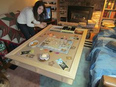 Home built gaming table | BoardGameGeek | BoardGameGeek