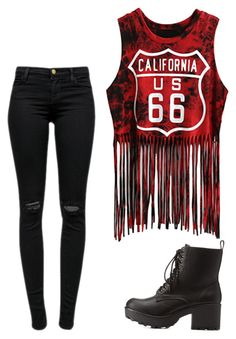 """""""Untitled #15"""" by erinthomas1207 on Polyvore featuring J Brand and Charlotte Russe"""