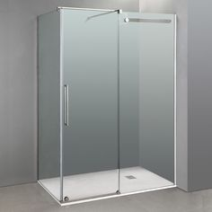 Mampara VETRUM frontal + lateral fijo. Angles, Tall Cabinet Storage, Locker Storage, Shower Doors, Armoire, Furniture, Home Decor, Bathroom Designs, Box