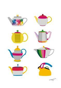 Studio ArtOcrat: Tea Pots