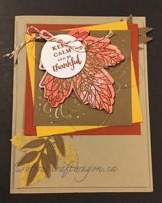 Stampin' Up! September 2017 paper pumpkin alternative