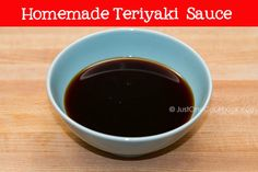 Teriyaki Sauce | Sauce Recipe | Just One Cookbook I just made this substituting the sugar for the mirin and I added some ground ginger and garlic <3 so good! I actually quadrupled the recipe (because I love a random bowl of rice and teriyaki sauce) and it made so much! It filled the jar I was intending to store it in and then some