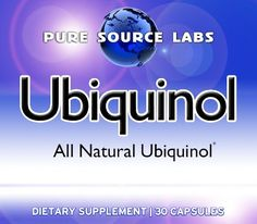 Ubiquinol Extreme Potency, 30ct Bottle 60mg All Natural, by Pure Source Labs >>> Learn more by visiting the image link.