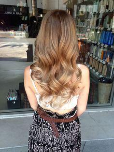 Image result for long bob caramel gold blonde balayage babylights