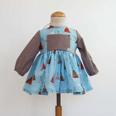 74ca28e3e Confeccionamos nuestros propios modelos 100% artesanal, ropa bebe y también  adultos. Vestido con