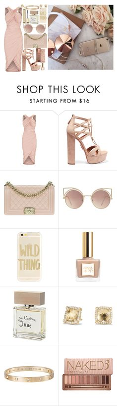 """fly like paper, get high like planes"" by loveselena22 ❤ liked on Polyvore featuring Aquazzura, Chanel, MANGO, Sonix, Guerlain, Bella Freud, David Yurman, Cartier and Urban Decay"