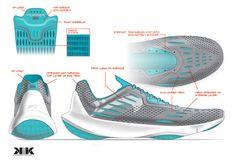 KiK Laboratory — OUR WORK Sneakers Sketch, Ribbon Shoes, Shoe Sketches, Mens Skechers, Training Sneakers, Designer Shoes, Running Shoes, High Top Sneakers, Footwear