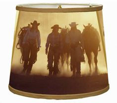 Real Cowgirls Lampshade