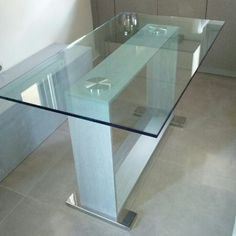 Wood, stainless steel, glass... Simple perfect