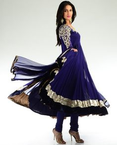 Chic #Anarkali with chudidar