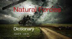 8. sınıf İngilizce Natural Forces ünitesi ders kitabı, çalışma kitabı ve dinleme metninde geçen bütün kelimeleri derlediğim sözlük çalışmamı bu bağlantıdan indirebilirsiniz.