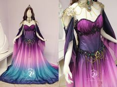 Twilight Lily Gown Details by Firefly-Path.deviantart.com on @DeviantArt