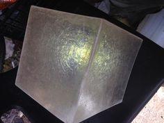 Caja de luz traslucida en resina. FIVICLASS