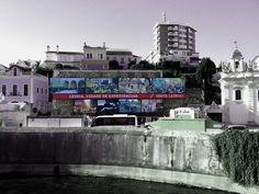 Outdoors para promover os principais eventos de Leiria Design by Fausto Vicente e João Morgadinho