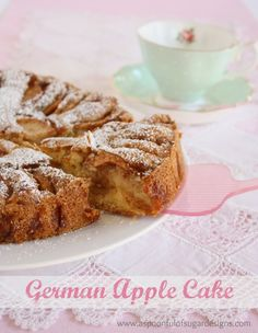 German Apple Cake is a favourite in our family! I was given the recipe from my Austrian friend, Karin, when I was in high school, and have been making it ever since. The vanilla cake is studded with delicious slices of apples that have been coated in cinnamon sugar. It is perfect with a cup... Read More »
