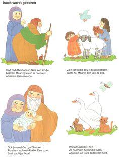 Isaak wordt geboren