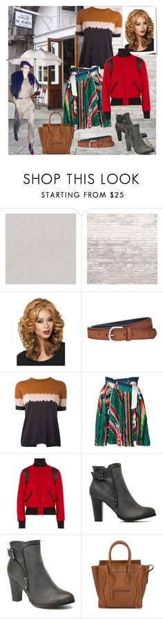 """Touch of heaven"" by elza6 ❤ liked on Polyvore featuring WALL, Prada, WithChic, Paul Smith, Étoile Isabel Marant, Sacai, Yves Saint Laurent and CÉLINE"