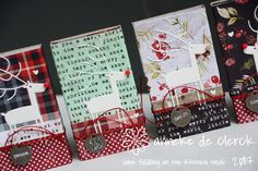 I'm still not tired of making these gift boxes.   For this set of recycled matchboxes I used Tim Holtz paper and my new MFT Deer Love die...