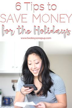 (AD) 6 tips to save money for the holidays, or any time of year! These are easy steps that we can ALL do! I'm also showing you an amazing app called Hopster, to help you earn rebates all year long! #SaveWithHopster #frugalliving #savingmoney #holidays #savingapps #savingcash #frugal #motherhood #giftgiving