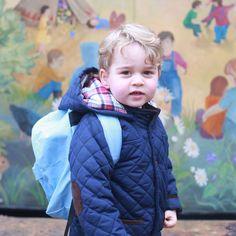 Kate Middleton's Best Photos of Prince George & Princess Charlotte - HarpersBAZAAR.com