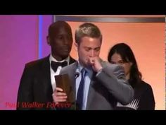 Get ready for the tissues. Michelle Rodriguez paints a good picture of the type of person Paul Walker was as she and Tyrese present Cody Walker a Noble Award. I hope to raise my sons into men with the same empathy, wisdom and compassion as the Walker Brothers have.